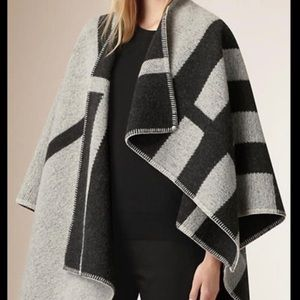 Burberry prorsum wool cashmere reversible cap